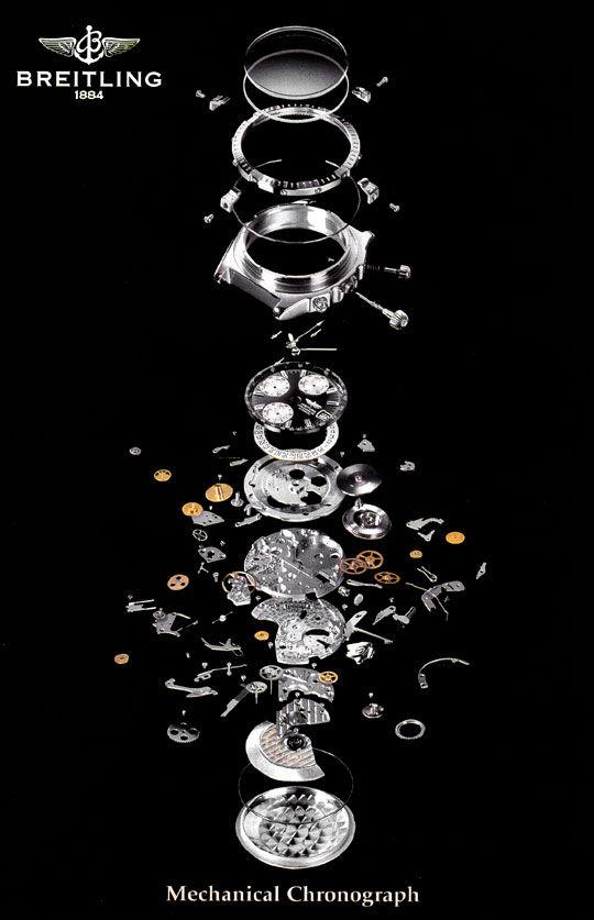 Foto 8, Breitling Chrono Sextant, Windrider Chronomat Stahlgold, U2279