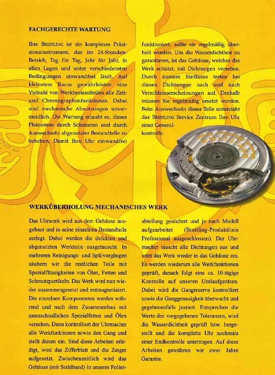 Foto 9 - Breitling Chrono Sextant, Windrider Chronomat Stahlgold, U2279