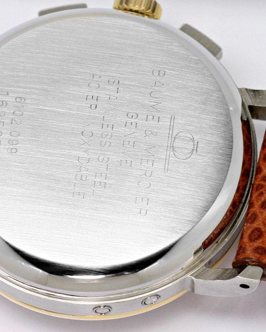 Foto 4, Baume und Mercier Mondphase Chronograph STG Sammler-Uhr, U2280