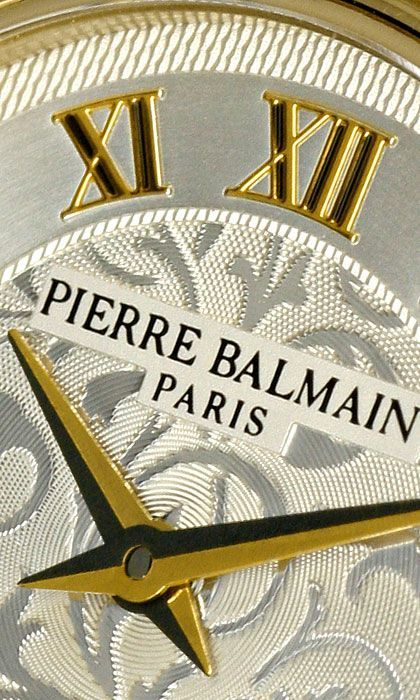 Foto 3, Pierre Balmain Paris Diamanten-Damenarmbanduhr Gelbgold, U2281