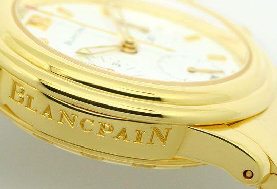 Foto 5, Blancpain Leman Chronograph Gelb-Gold Automatik, Medium, U2282