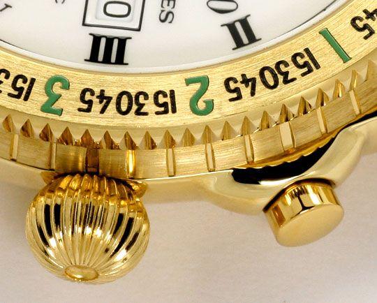 Foto 4, Longines Lindbergh Hour Angle Uhr Chronograph, Gold 18K, U2286