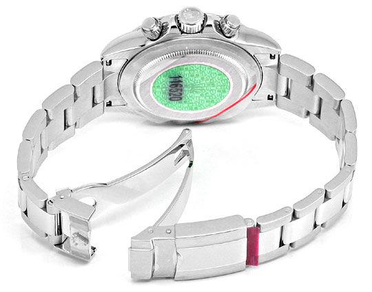 Foto 6 - Rolex Cosmograph Daytona Chronograph Edel Stahl Rarität, U2294