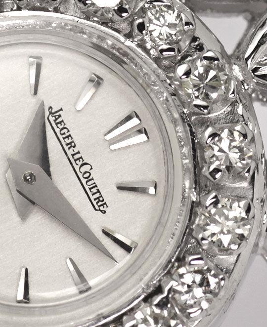 Foto 4 - Jaeger LeCoultre Damenuhr 64 Diamanten 2,03ct Weissgold, U2307