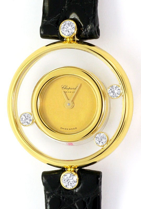 Foto 2 - Chopard Happy Diamonds, Bewegliche Brillanten, Damenuhr, U2313