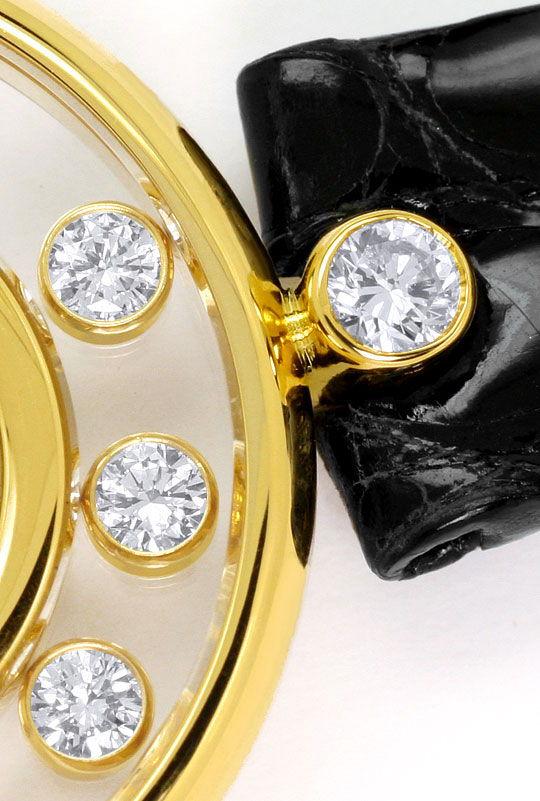 Foto 3 - Chopard Happy Diamonds, Bewegliche Brillanten, Damenuhr, U2313