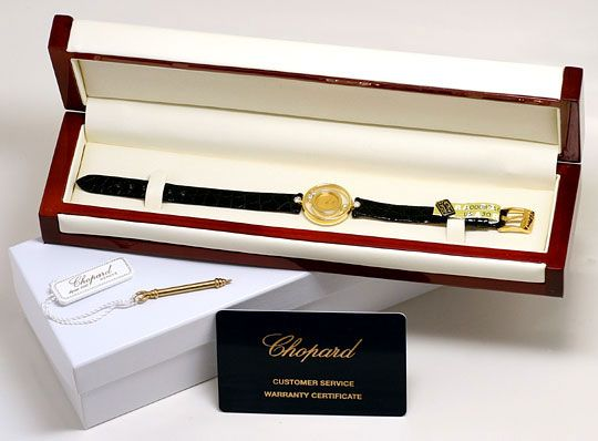 Foto 8, Chopard Happy Diamonds, Bewegliche Brillanten, Damenuhr, U2313