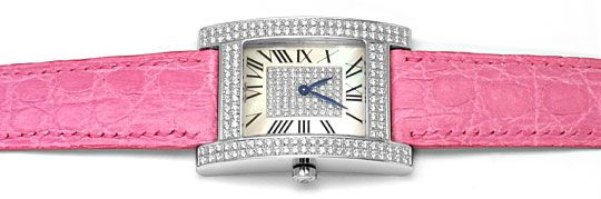 Foto 1, Chopard H-Uhr Your Hour 220Brillanten Weissgold 18Karat, U2326