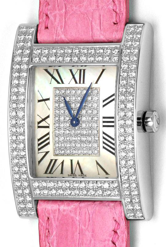 Foto 2, Chopard H-Uhr Your Hour 220Brillanten Weissgold 18Karat, U2326