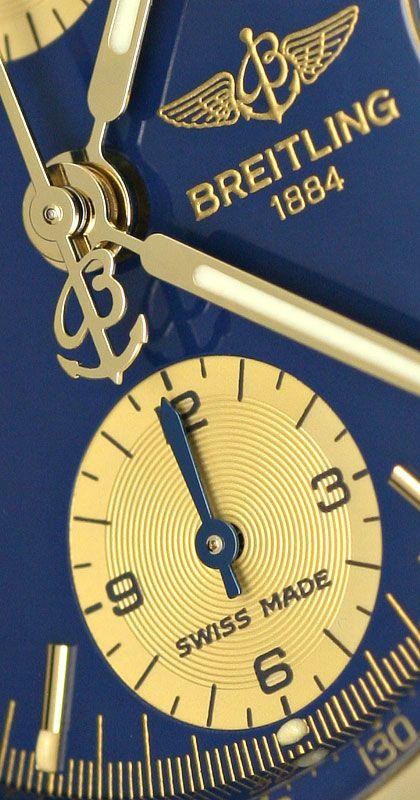 Foto 3 - Breitling Chronomat Windrider Herren Stoppuhr, Gelbgold, U2329