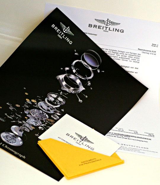 Foto 8 - Breitling Chronomat Windrider Herren Stoppuhr, Gelbgold, U2329