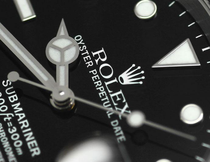 Foto 3 - Rolex Submariner Date Fliplock in Stahl fast Neuzustand, U2330