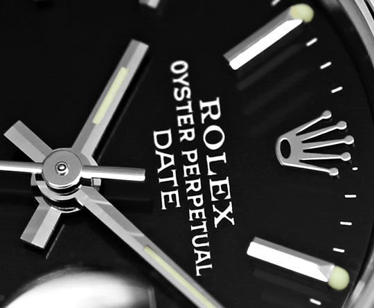 Foto 3 - Rolex Date Weissgold Lünette Edelstahl Damen Armbanduhr, U2332