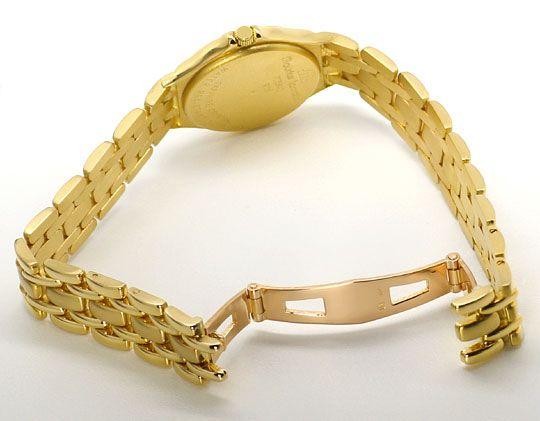 Foto 4, Maurice Lacroix Damen-Uhr 18K massiv-Gold im Neuzustand, U2335