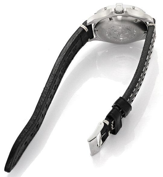 Foto 5 - Breitling Colt Ocean Stahl Lederband, Herren Armbanduhr, U2340