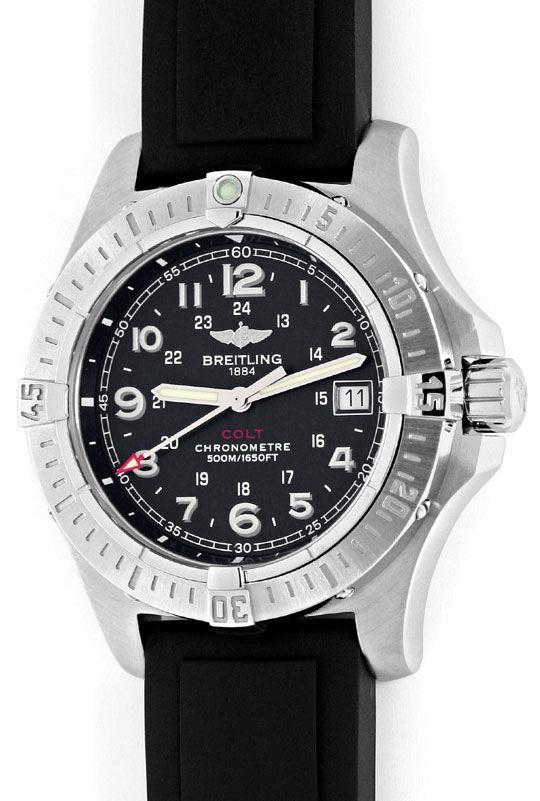 Foto 2, Breitling Colt Chronometer Diver Pro, Stahl, Ungetragen, U2347