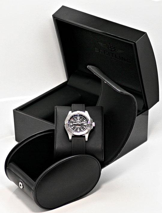 Foto 6, Breitling Colt Chronometer Diver Pro, Stahl, Ungetragen, U2347