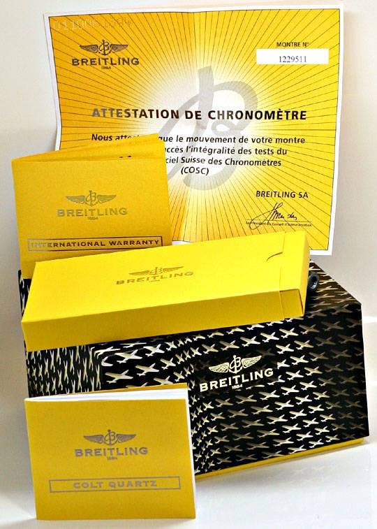 Foto 8, Breitling Colt Chronometer Diver Pro, Stahl, Ungetragen, U2347