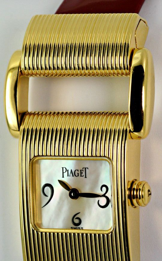 Foto 3, Piaget Miss Protocole Allongee Gold Damen, 4 Armbaender, U2350