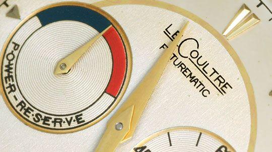 Foto 3, Erste Automatik Uhr LeCoultre Futurematic Power Reserve, U2355