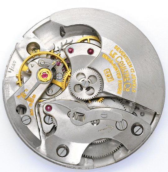Foto 4, Erste Automatik Uhr LeCoultre Futurematic Power Reserve, U2355