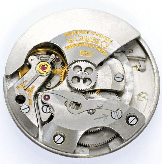 Foto 5, Erste Automatik Uhr LeCoultre Futurematic Power Reserve, U2355