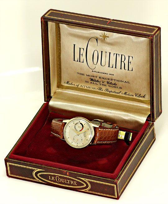 Foto 8, Erste Automatik Uhr LeCoultre Futurematic Power Reserve, U2355