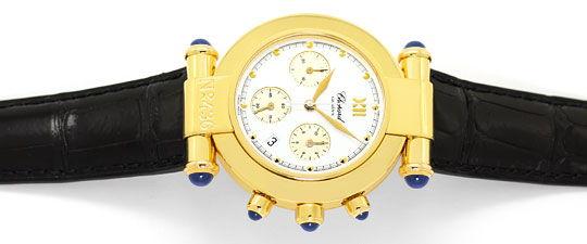 Foto 1, Chopard Imperiale Chronograph Nr.436 Gelbgold Herrenuhr, U2358