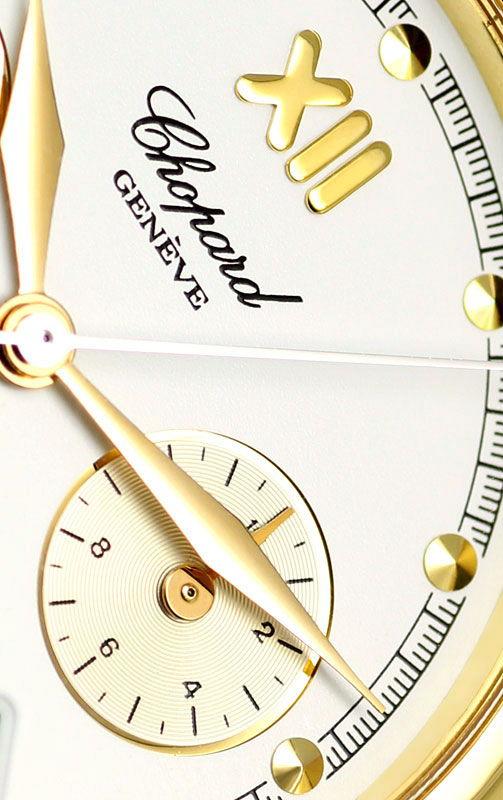 Foto 3, Chopard Imperiale Chronograph Nr.436 Gelbgold Herrenuhr, U2358