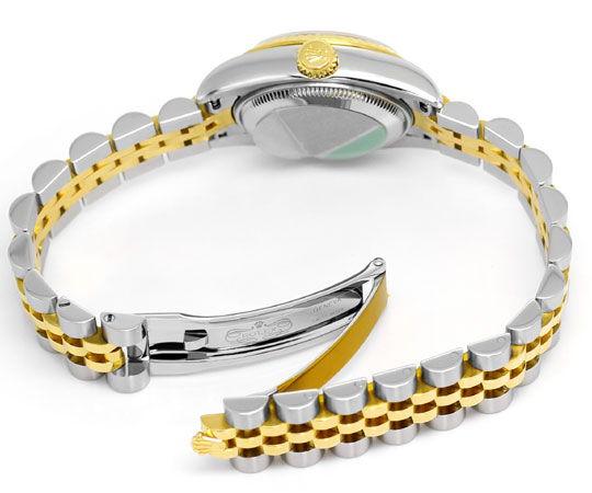 Foto 5, Rolex Lady Datejust Stahl-Gold Diamant-Zifferblatt Blau, U2372