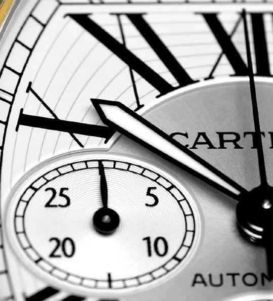 Foto 3, Cartier Roadster Chronograph, Automatik, XL, Stahl-Gold, U2374