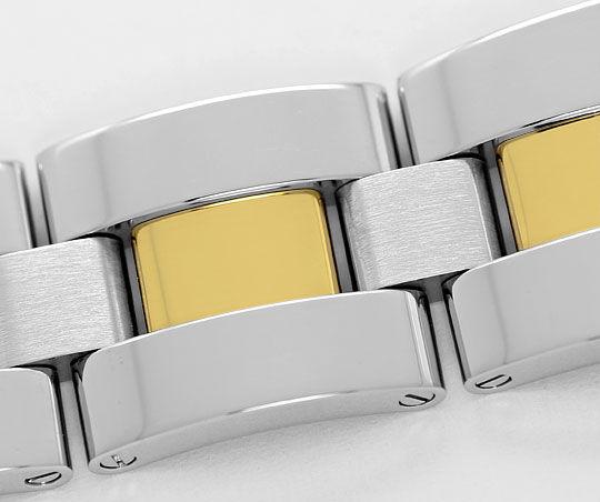 Foto 5, Cartier Roadster Chronograph, Automatik, XL, Stahl-Gold, U2374