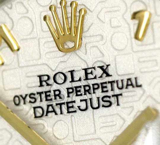 Foto 3, Rolex Damenuhr Datejust Rolesor Jubilee-Band Stahl-Gold, U2397
