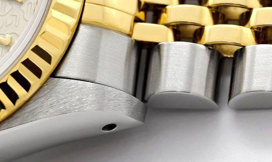 Foto 4, Rolex Damenuhr Datejust Rolesor Jubilee-Band Stahl-Gold, U2397