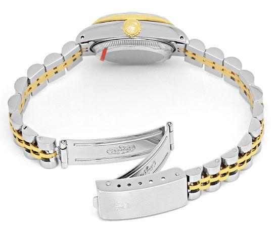Foto 5, Rolex Damenuhr Datejust Rolesor Jubilee-Band Stahl-Gold, U2397