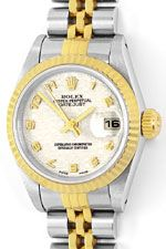 Rolex Damenuhr Datejust Rolesor Jubilee-Band Stahl-Gold