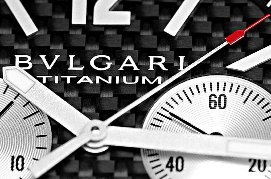 Foto 3, Bulgari Bvlgari XL Diagono Chrono Titan Alu, Ungetragen, U2398