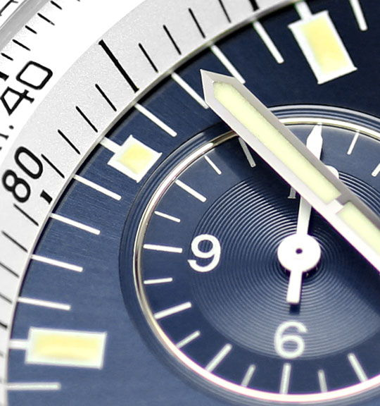 Foto 4, Breitling Jupiter Navitimer Pilot Chronograph Alarm usw, U2403