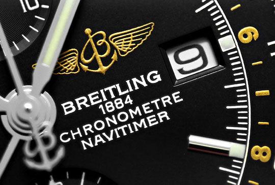 Foto 4, Ungetragene Breitling Navitimer World Chronograph Stahl, U2410