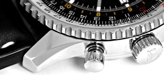 Foto 5, Ungetragene Breitling Navitimer World Chronograph Stahl, U2410