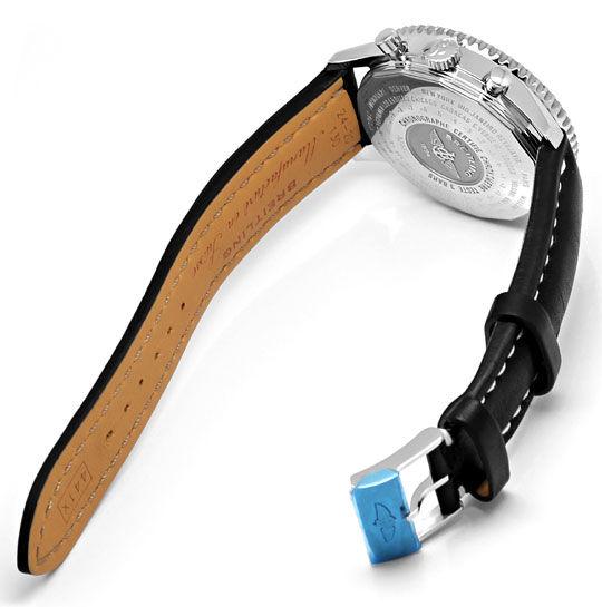 Foto 6, Ungetragene Breitling Navitimer World Chronograph Stahl, U2410