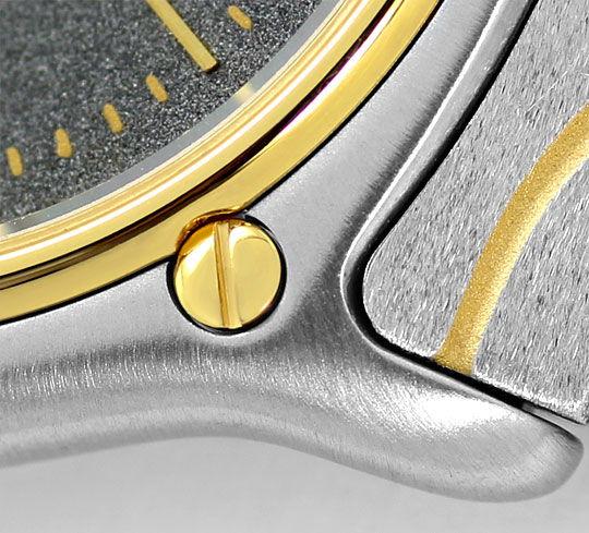 Foto 4, Ebel Sport Classic Classique Wave Junior Stahl Gold Uhr, U2414