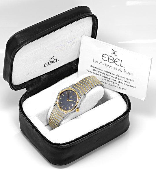 Foto 8, Ebel Sport Classic Classique Wave Junior Stahl Gold Uhr, U2414
