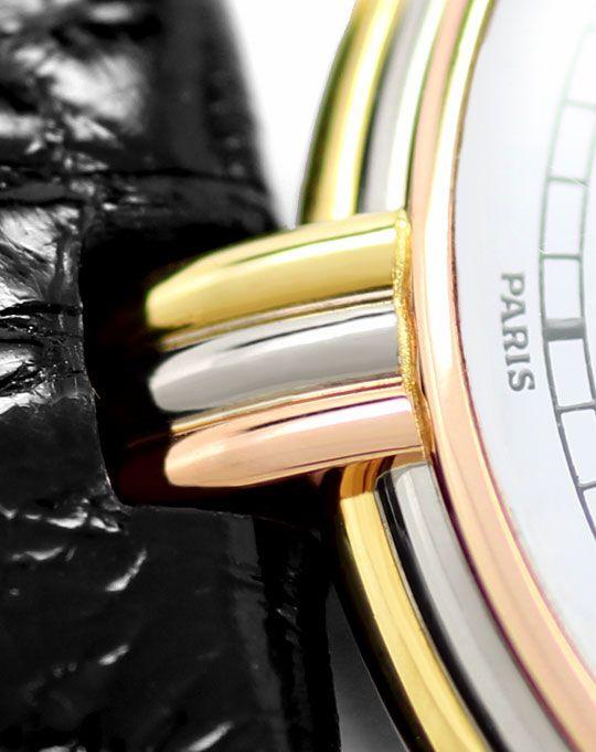 Foto 3, Louis Cartier Vendome, Gelbgold Weissgold Rotgold Kroko, U2415
