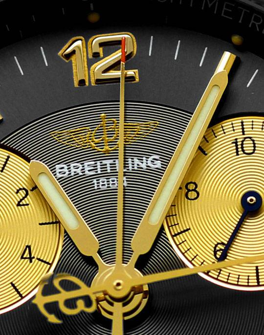 Foto 3, Breitling Chrono Sirius Stahlgold Chronograph Herrenuhr, U2416