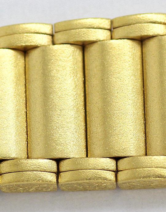 Foto 3, Guepard Damenarmbanduhr Gliederband 14K Gold Neuzustand, U2418