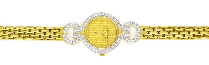 Foto 1 - Schabl und Vollmer Damenuhr 0,64ct Diamanten 585er Gold, U2561