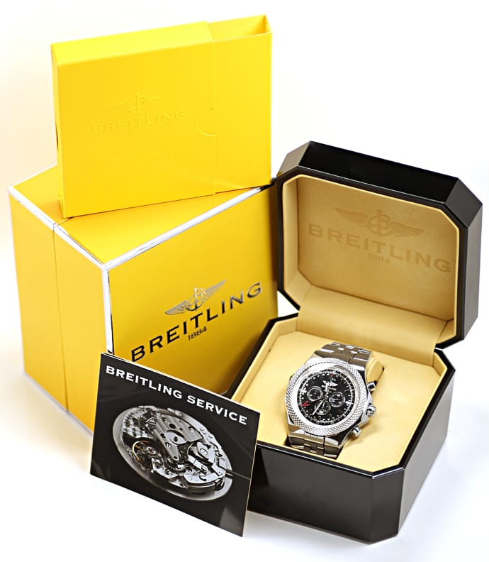 Foto 6 - Breitling Bentley GMT Special Edition Stahl Herrenuhr, U2612