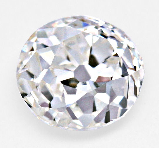 Diamant Altschliff rund, Old Mine Cut Diamond