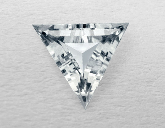 Diamant Dreiecks Schliff, Triangel Schliff, Triangle Cut Diamond